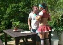 PLaatje van Sex met de geile serveerster