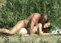 PLaatje van Stiekem gefilmd tijdens buitensex