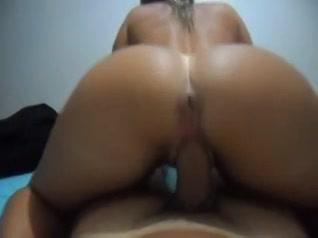 PLaatje van Sexy kontje beweegt heen en weer op zijn lul