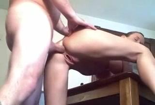 PLaatje van Amateur koppel maakt geile anaal video