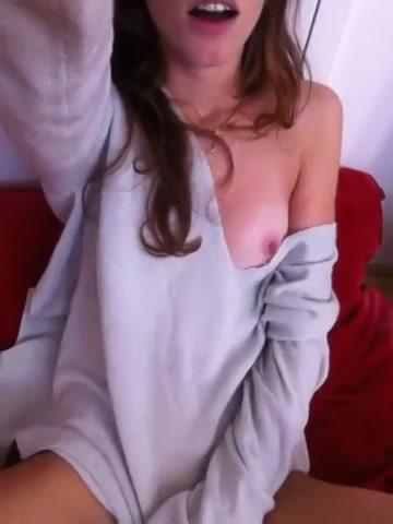 PLaatje van Geil meisje maakt een sexy vinger filmpje