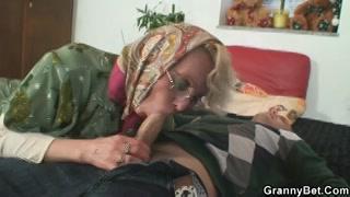 Hete sex date met geile oma