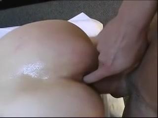 Ja vinger tijdens het neuken van mijn kut mijn anus
