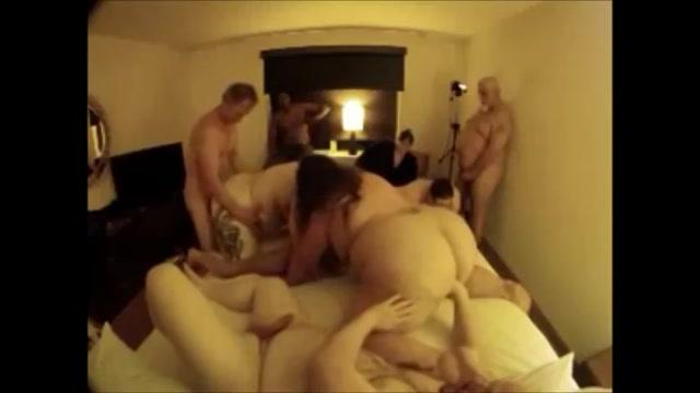 Letterlijk een vette amateur orgie